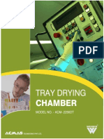 Tray Drying Chamber