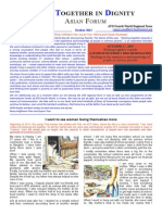 ATD Asian Forum Letter October 2013