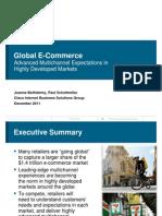 Optimizing Global Multi Channel Marketing Distribution
