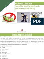 Global Pest Control Services Market