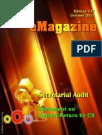 117 ICSI Mysore eMagazine October 2013