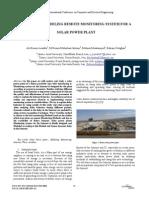 Remote Modeling Solar Plant