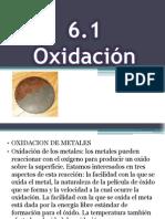 6.1 oxidacion