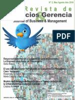 Blanco Ibelis. Responsabilidad Social de La Empresa. Revista de Negocios y Gerencia