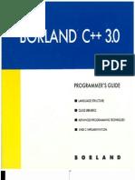 Borland C++ 3.0 Programmer's Guide
