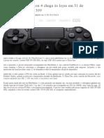 E3 2013 - PlayStation 4 chega às lojas em 31 de dezembro por US$ 399 - CanalTech.com.br