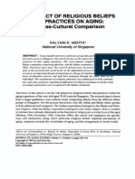 82-The Impact of Religious Beliefs and Practices on Aging a Cross-cultural Comparison