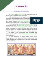 A RELIGIÃO DOS GREGOS E OS SEUS DEUSES