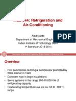 MEL344 Centrifugal Compressors
