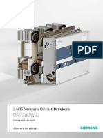 Catalog Vacuum Circuit Breakers 3ah5 En