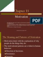 Ch11 Motivation
