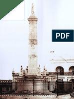 1895. El antiguo monumento a la Constitución de 1853 en la Plaza 25 de Mayo - copie