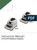 ATS BTS Moisture Analyzers