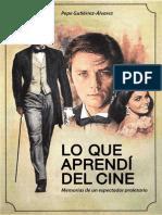 Lo Que a Prendi Del Cine
