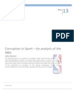 Corruption in the NBA