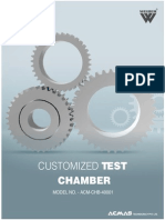 Customized Test Chambers