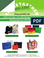 Schröder Packfix Tragetaschen Ökoline 2013