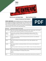 Casting for Spring Awakening THE PDF