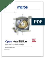 1430-Opera Cluster Solution - Installation
