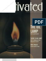 Activated, November 2001 the Oil Lamp