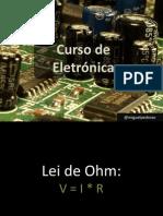 Curso de Electrónica - Sessão 1