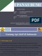 Gunung api aktif, pasif, di indonesia