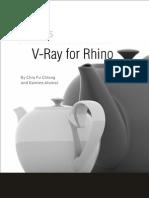 Manual. v-Ray for Rhino