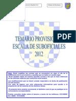 Indice-temario Suboficiales 2012
