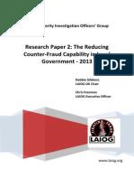 LAIOG Paper Reducing Investigators June 13