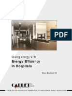 Energy Efficiency in Hospitals Maxi Brochure 5 CADDET