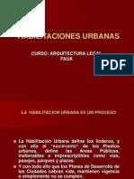Habilitaciones Urbanas 1