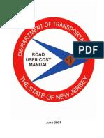 Road User Cost Manual