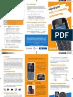 Brochure - Simple Phone Type Khmer