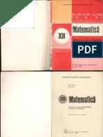 Matematica XII 1988 Probabilitati