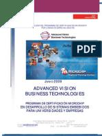 Catalogo de Cursos de Certificacion Microchip Por Lineas de Especializacion