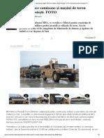 Renault va produce camioane şi maşini de teren militare, lângă Ploieşti. FOTO _ Economica