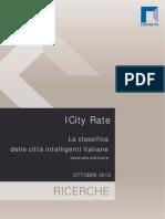 Classifica delle Smart City Italia 2013