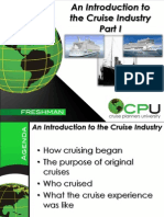 History of the Cruise Industry Ppt