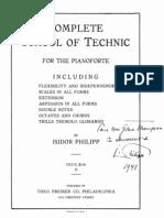 School of Technic - Isidore Philipp