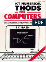 Compact Numerical Methods By John Nash