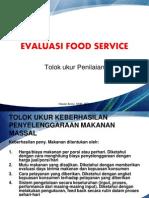 Evaluasi Food Service