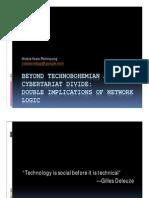 Beyond Technobohemian and Cybertariat Divide - HYP - KJIG UI
