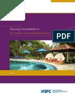 Ensuring Sustainability in Sri Lanka's Hotel Industry 2013