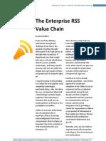 The Enterprise RSS Value Chain