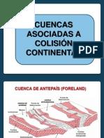 Cuencas en Colision Continental