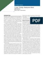 Retinal Laser Therapy Biophysical Basis