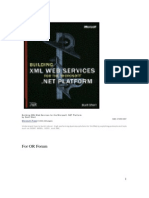 XML Web Services for the Microsoft .NET Platform