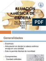 Evaluación Kinésica de Cadera