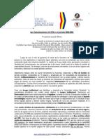 Comunicaciones del CED en el período 2008. Rendición de Cuentas