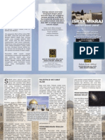 Brochure Israk Mikraj 1430H